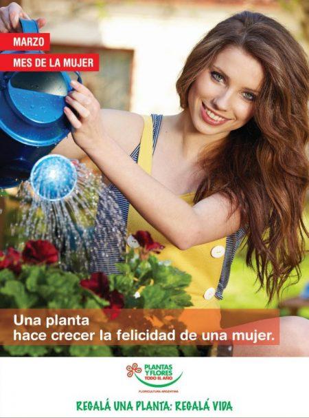 Plantas y Flores en el Mes de la Mujer!