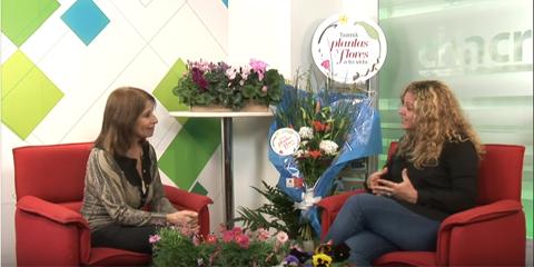 Revista Chacra TV y Desde el Jardin con la Asociación Argentina de Floricultores y Viveristas