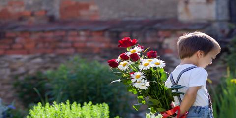 Día de la madre con Plantas y Flores