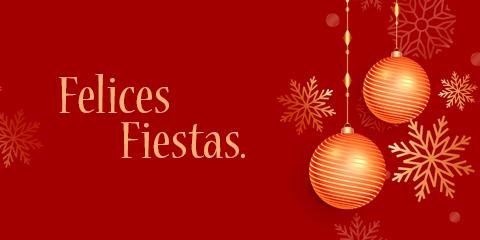 Felices Fiestas.