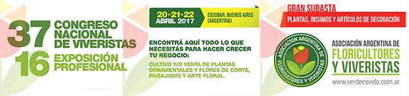 37 Congreso Nacional de Viveristas